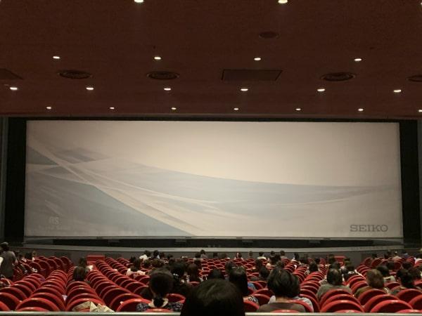 東京宝塚劇場座席から