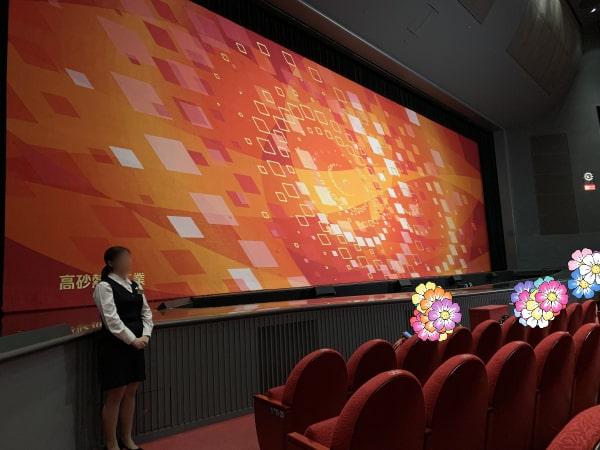 東京宝塚劇場4列目